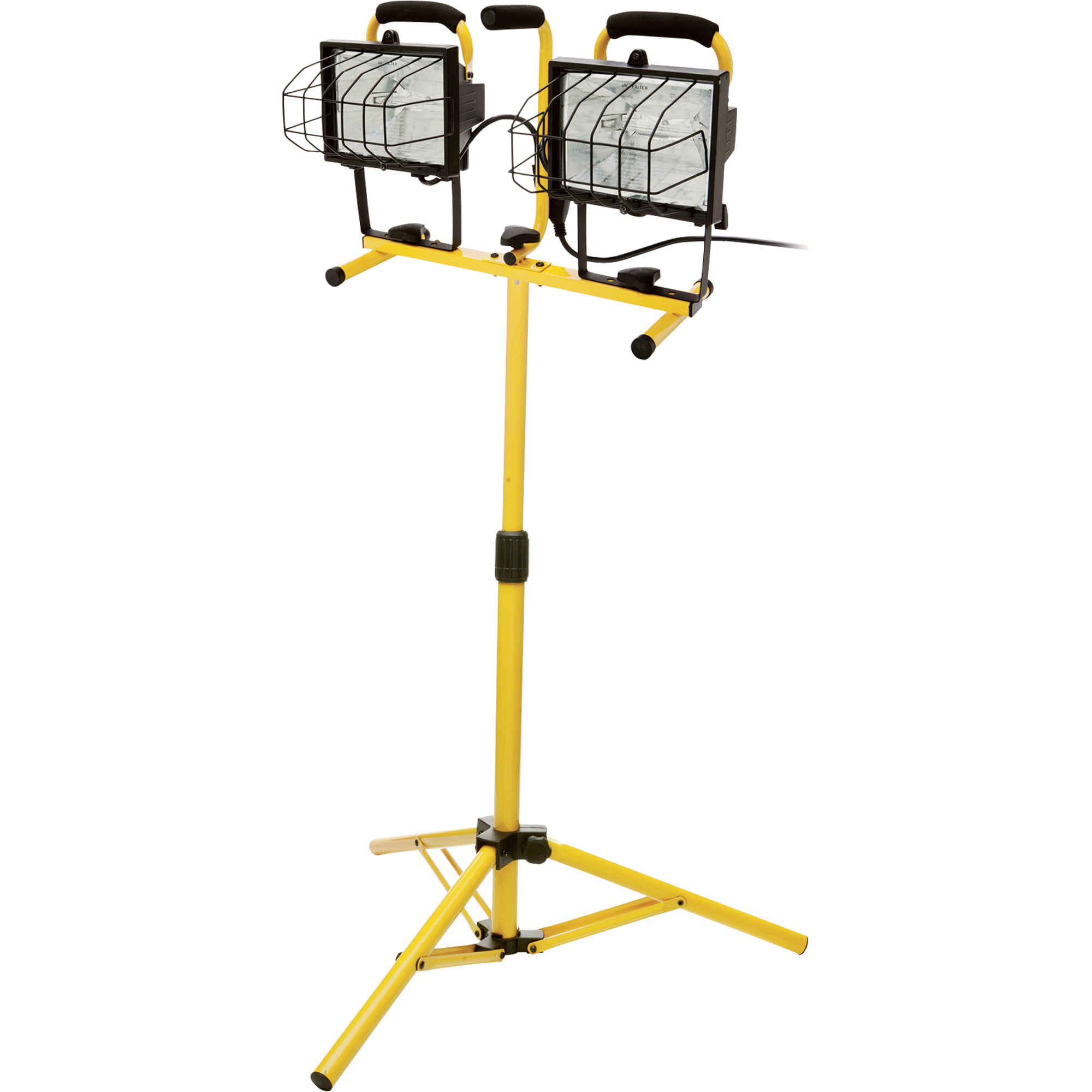 Flood Lights With Stand : Double flood light on stand