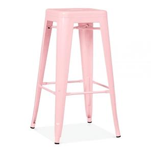 Pink Tolix Stool